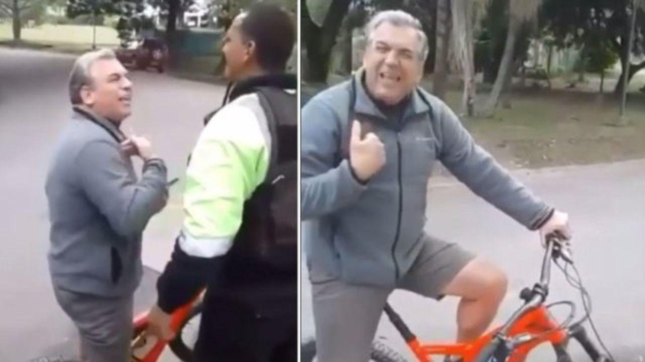 El hombre se peleó con los porteros de country donde vive en Tucumán.