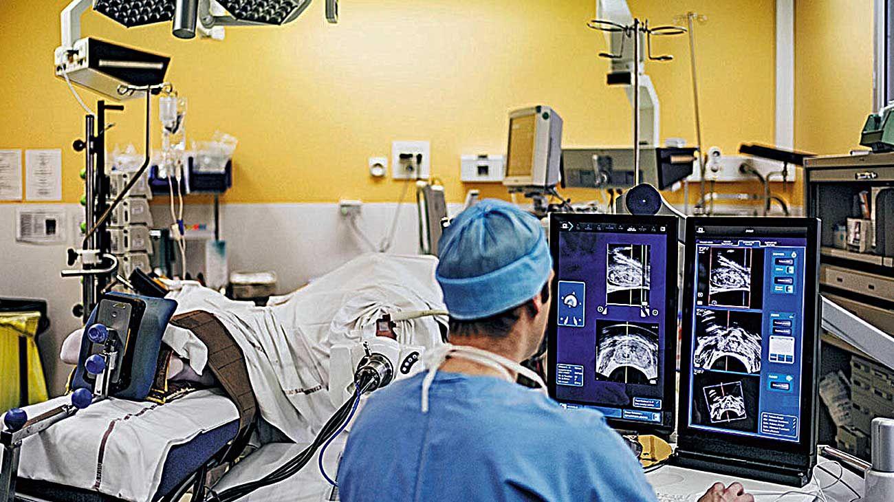 Tratamientos. Las cirugías oncológicas, junto a las de urgencia, son las únicas que se realizan.