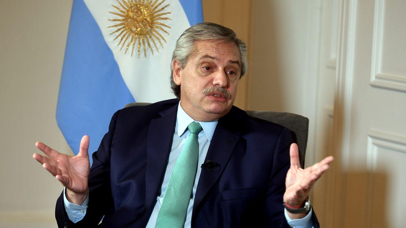 Jorge Fontevecchia entrevista en exclusiva al Presidente Alberto Fernandez en la Quinta de Olivos