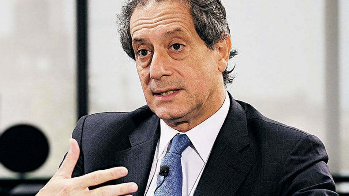 Central Bank chief Miguel Ángel Pesce.