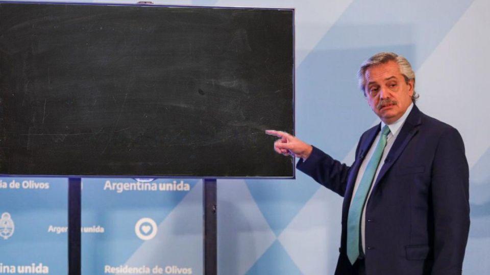 Alberto Fernández decidió extender la cuarentena.