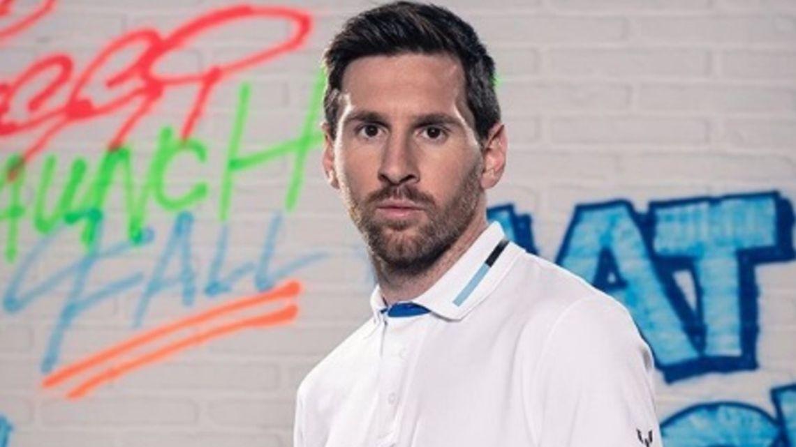 Messi envió un mensaje a cada trabajador de la salud por la lucha contra el coronavirus