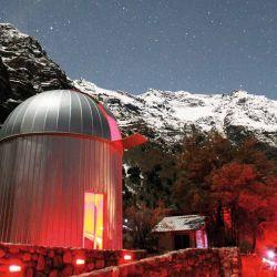 El observatorio Astronómico Pailalén le agrega magia nocturna al viaje.