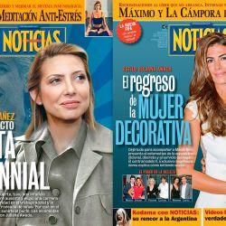 Las tapas de Fabiola Yañez y Juliana Awada | Foto:cedoc