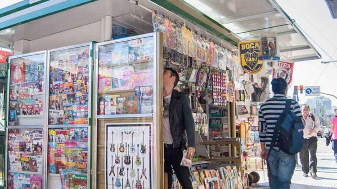 Kioscos de diarios y revistas | Foto:Cedoc