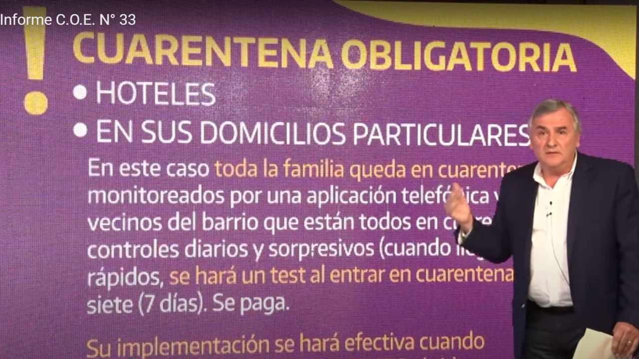 El gobernador de Jujuy, Gerardo Morales | Foto:Cedoc.