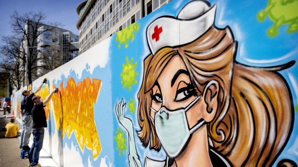 Arte urbano: los grafitis en el mundo del coronavirus