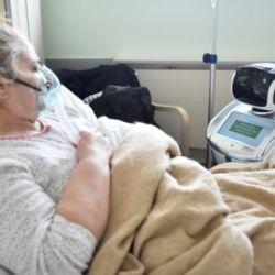Al principio los pacientes se resistieron, sobre todo los mayores, pero ahora hasta usan a Tommy para enviarles mensajes a sus doctores.