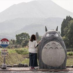 De todas partes de Japón van hasta el pueblito rural de Takaharu para sacarse una foto más que instagrameable.