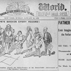 Las crónicas de Nellie fueron publicadas en el diario en el que trabajaba.