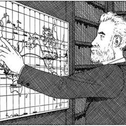 Durante su vieja Nellie Bly visitó a Julio Verne.