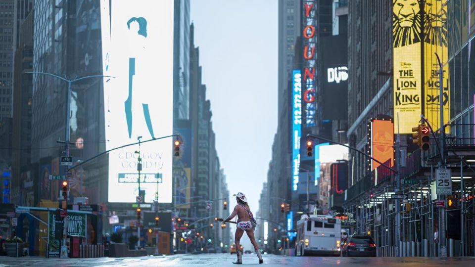 La pandemia azota la ciudad de Nueva York.