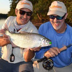 La pesca de omnívoros como el pirá pitá encuentra una nueva dimensión con el uso de frutos blandos.
