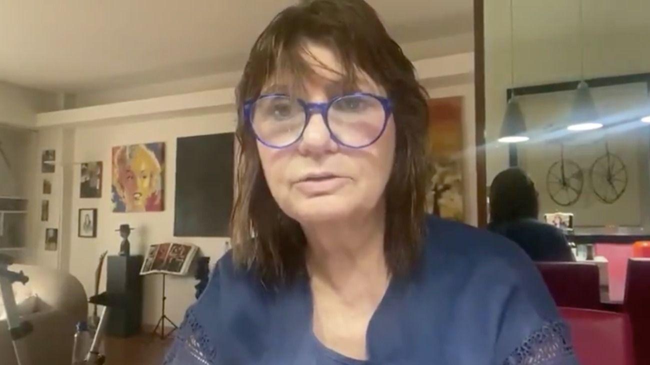 Patricia Bullrich hizo ayer una conferencia online con referentes de Juntos por el Cambio.