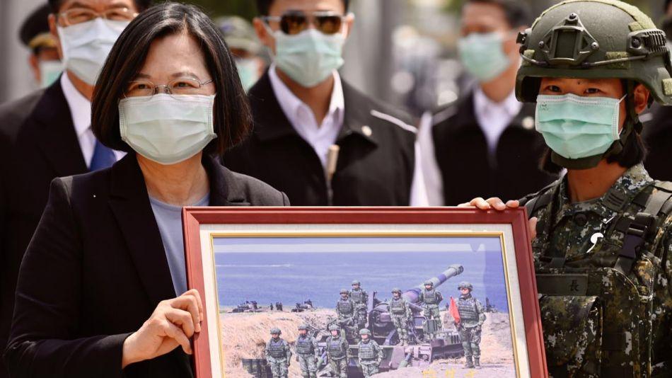 presidenta de Taiwan Tsai Ing-wen 20200415