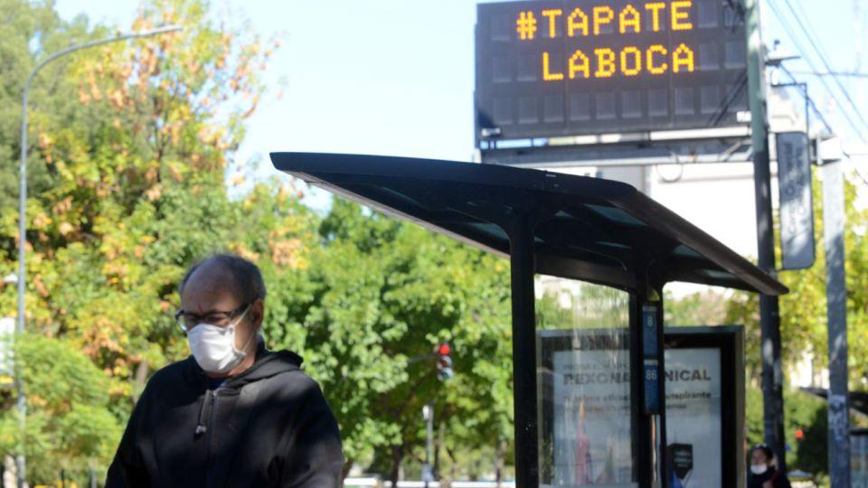 Uso obligatorio de barbijos y tapabocas en la Ciudad Autonoma de Buenos Aires