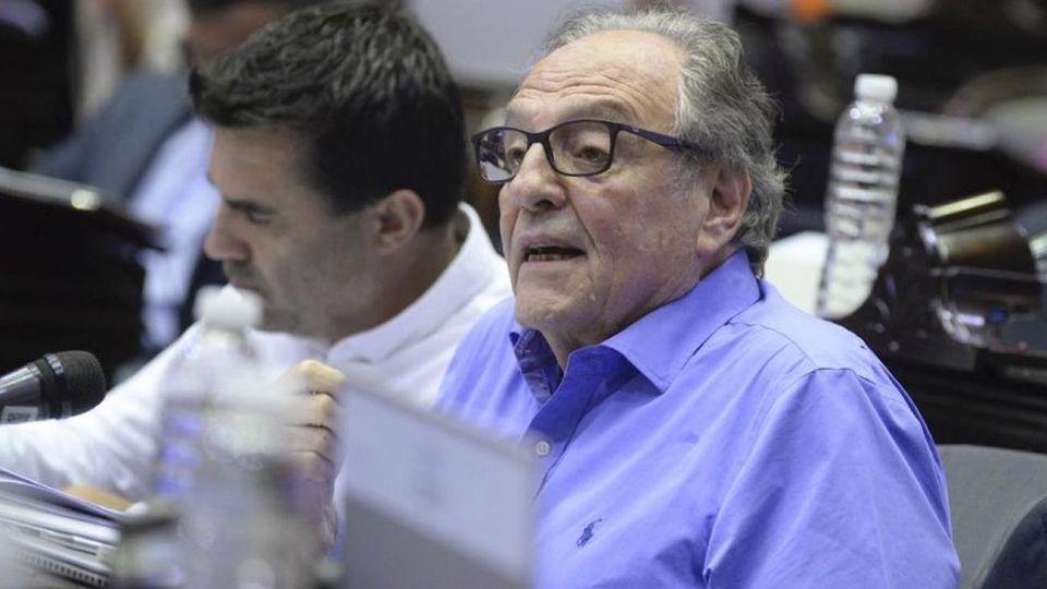 El diputado Carlos Heller