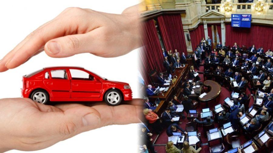 Senado y seguros
