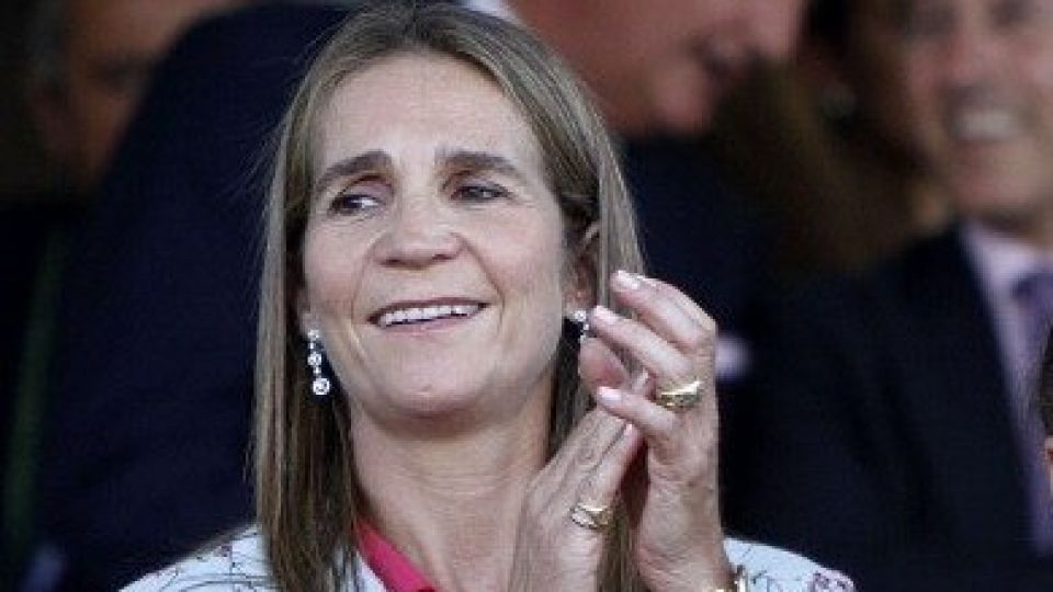 "La infanta Elena se volvió viral cantando ""Resistiré"""