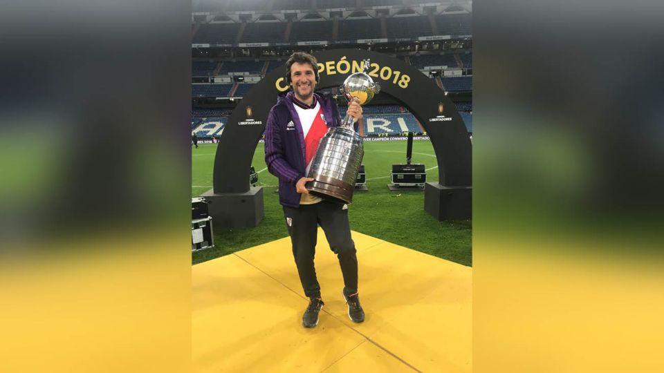 Pablo Nigro, psicólogo deportivo del Club Atlético River Plate
