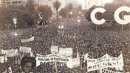 Cuando la CGT se transformó en 'depositaria' de las ideas de Perón | Perfil