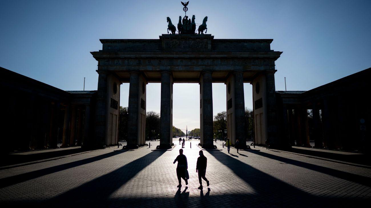 Berlín, capital de Alemania, comienza a salir de la cuarentena.