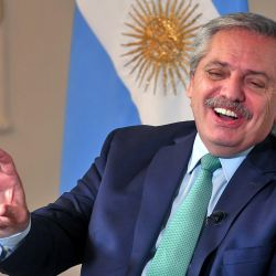 President Alberto Fernández sat down with Perfil's Jorge Fontevecchia for a two-hour interview at the Olivos presidential residence.