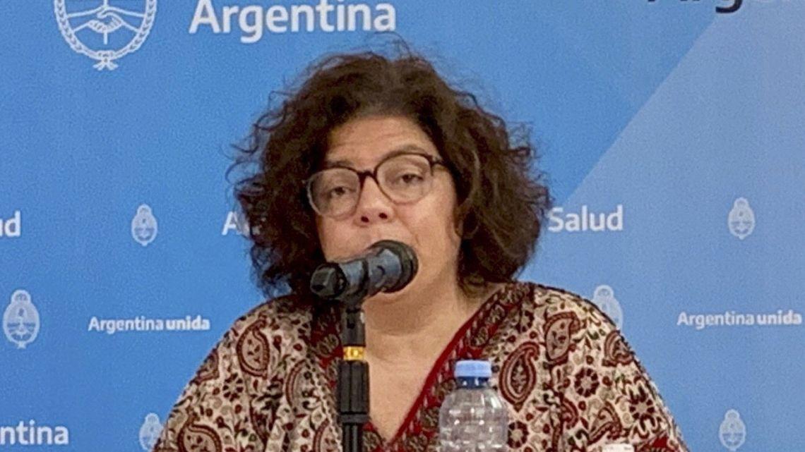 Health Access Secertary Carla Vizzotti.