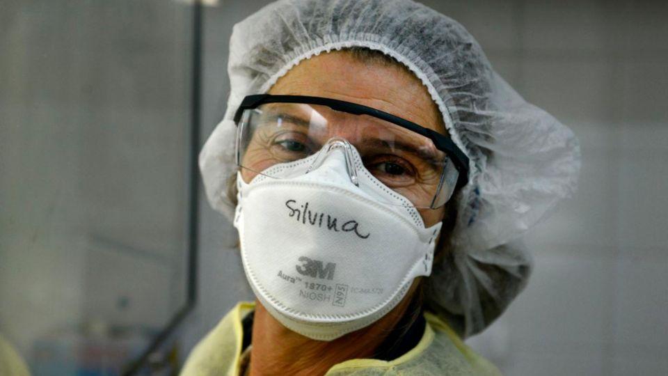 Postales de la Ciudad de Buenos Aires afectada por el Coronavirus.