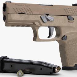 Pistola Sig Sauer P320.