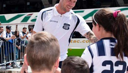 ARQUERO RECORD. Con marcas históricas para el club, Herrera se ganó el respeto de los hinchas.