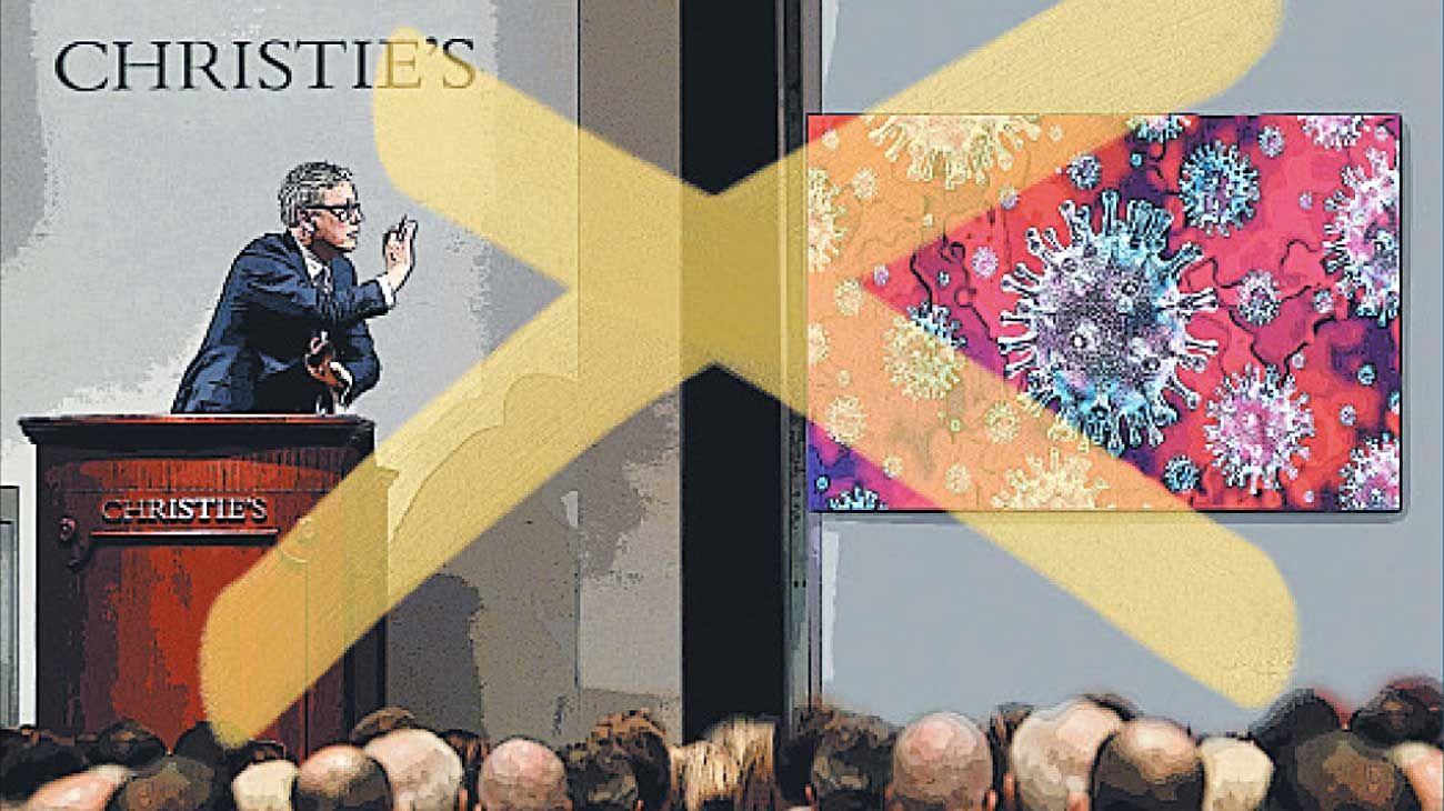 Efecto coronavirus. El nuevo mercado del arte.