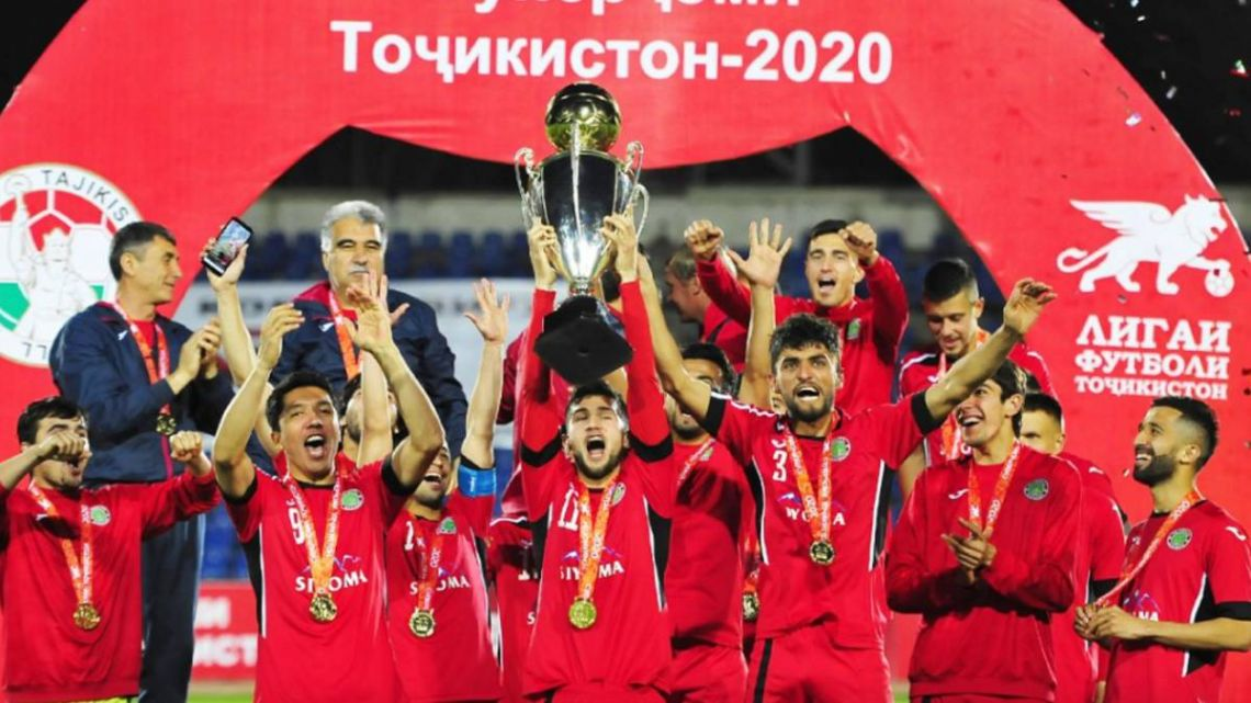 Istiqlol were crowned champions of Tajikstan, despite WHO recommendations that games be halted.