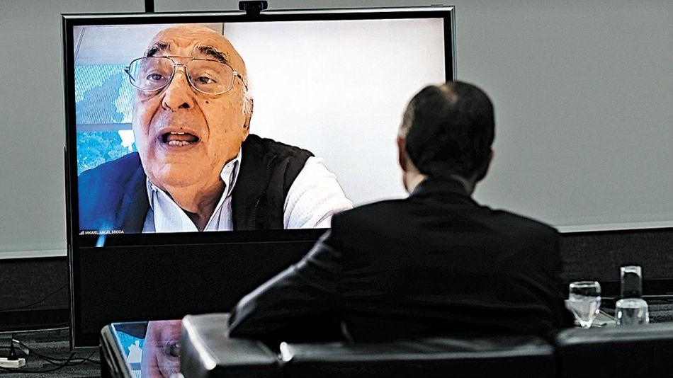 Miguel Angel Broda, en la entrevista de Jorge Fontevecchia.