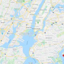 Ubicación de Jamaica Bay respecto de Brooklyn y Manhattan, Nueva York.