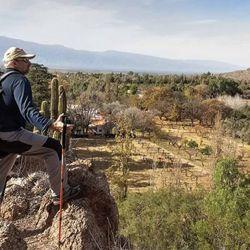 Vista panorámica de Samay Huasi, en las afueras de Chilecito.