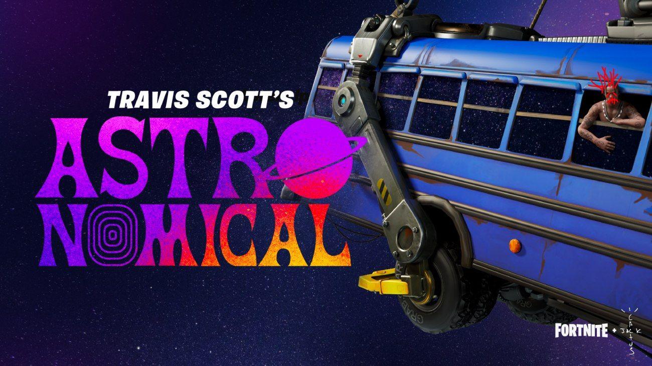 Fortnite y Travis Scott generan un evento único: un recital online en diferentes momentos, del 23 al 25 de abril. El rapero además estrenará una canción. Hay premios para quienes asistan al evento virtual.