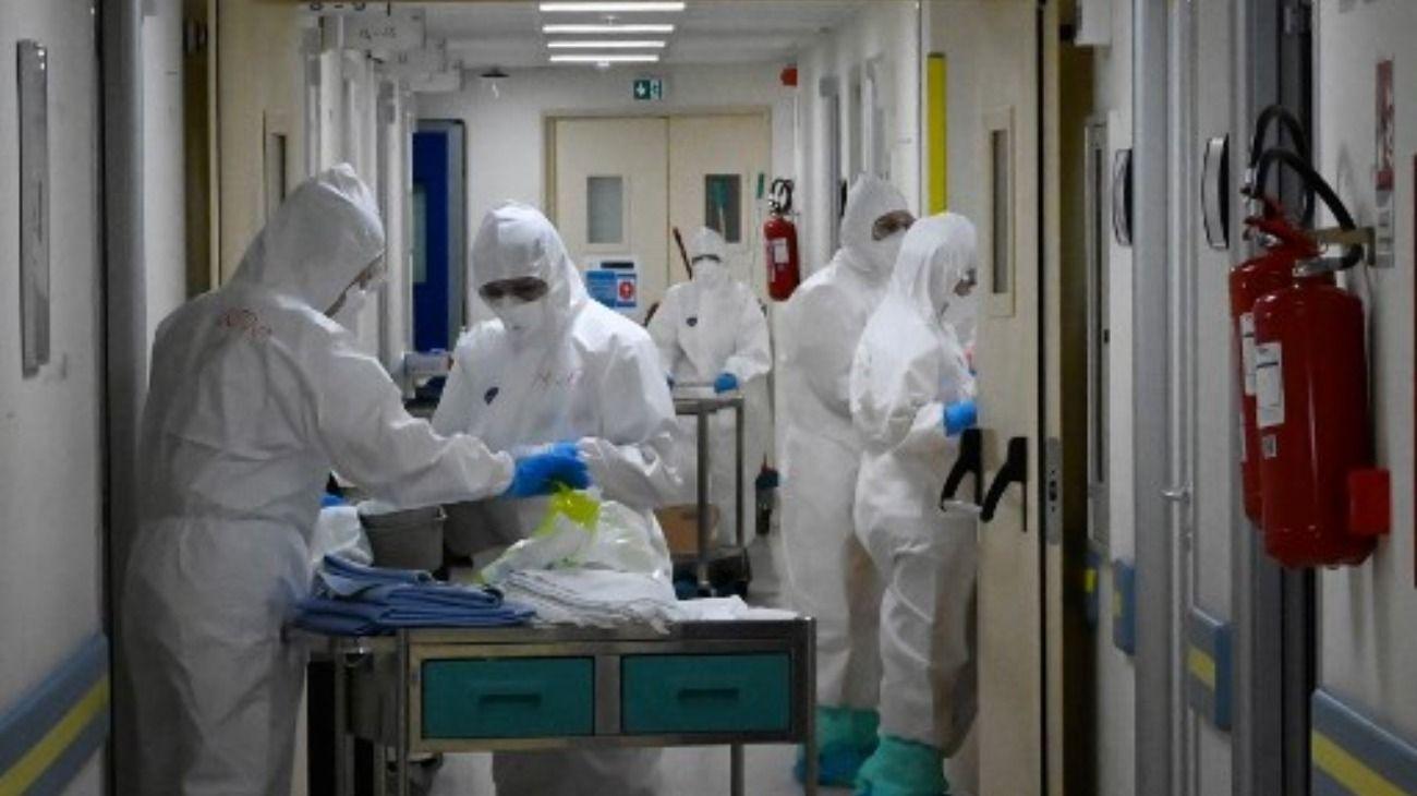 Italia es el país europeo más afectado por el coronavirus.