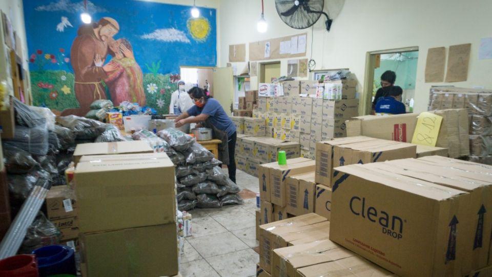 legisladores porteños Frente de Todos donaron alimentos curas villeros Bajo Flores g_20200420