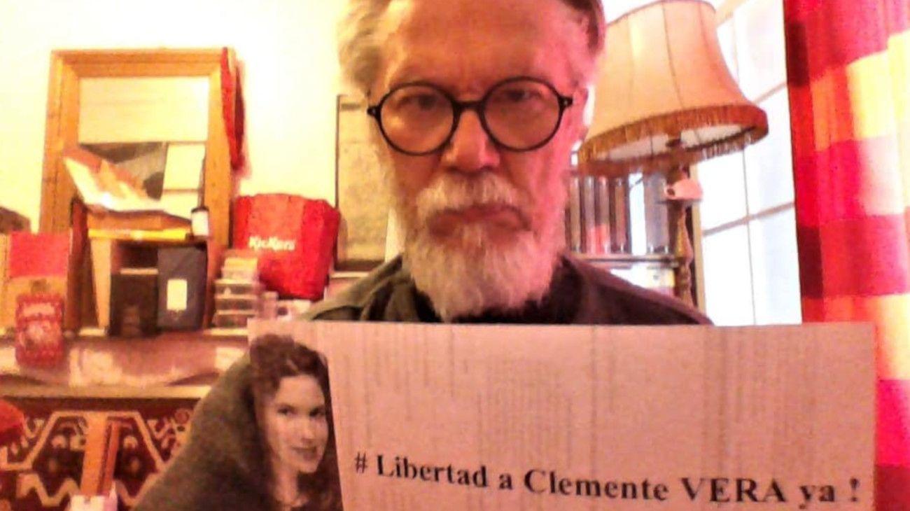 Jean Michel Bouvier, el padre de Cassandre, pidió por la libertad de Santos Clemente Vera.