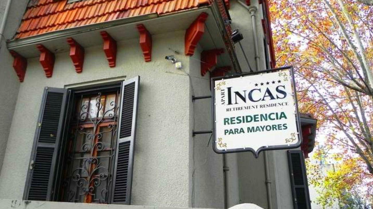 La residencia para adultos mayores está ubicada en el barrio de Belgrano.