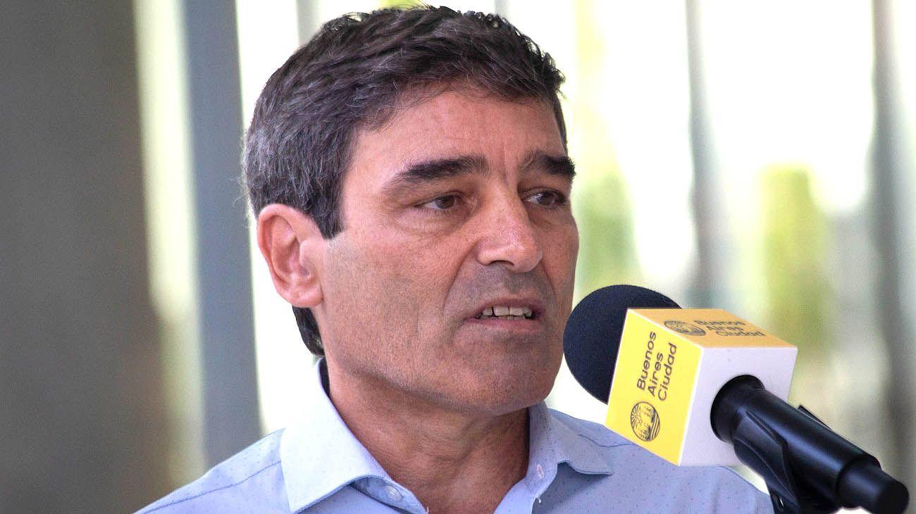 El ministro de salud de la Ciudad de Buenos Aires Fernán Quirós
