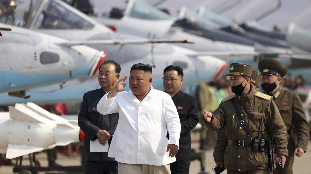 Kim Jong-un líder norcoreano