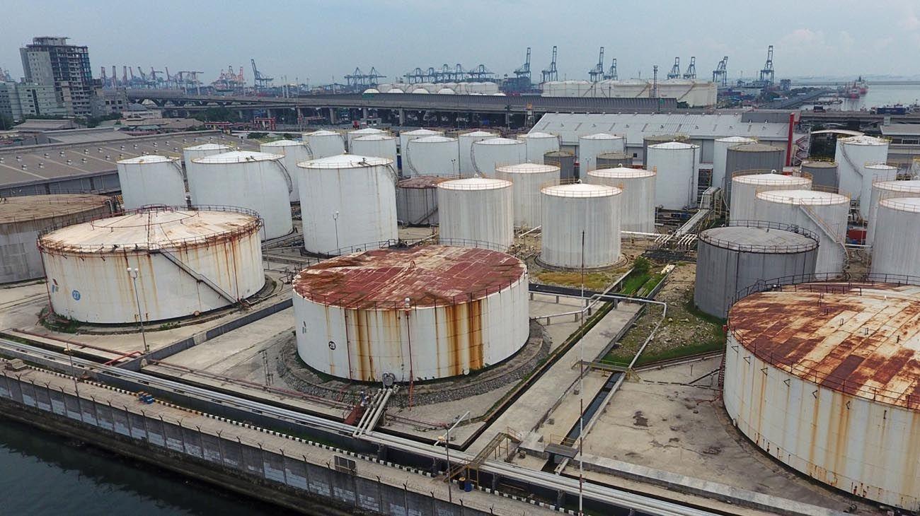 Caída de lacotización del Petróleo