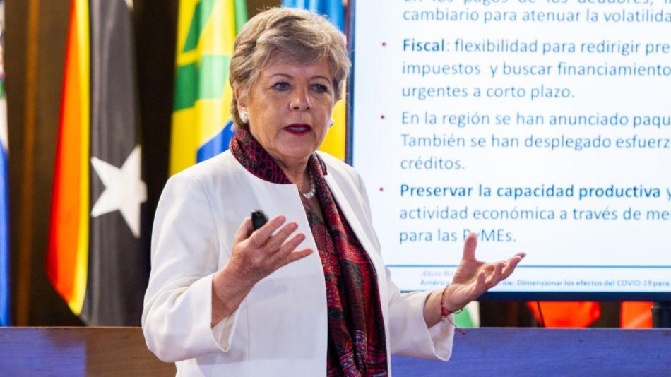 Alicia Barcena Cepal