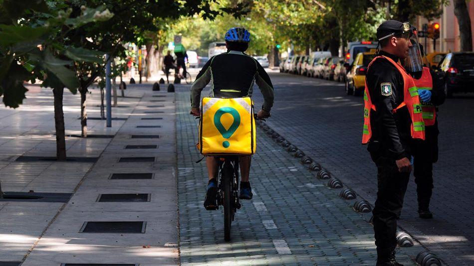 Mendoza: El servicio de delivery en la ciudad 20200421