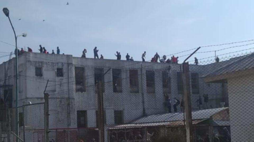 La Unidad Penitenciaria N° 10, donde los presos se amotinaron la semana pasada en reclamos de libertades.