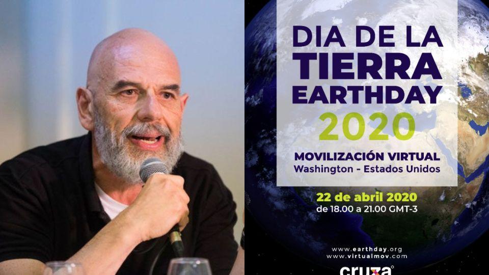 Mediante su nueva plataforma, Javier Grosman organiza el Día de la Tierra a nivel global.