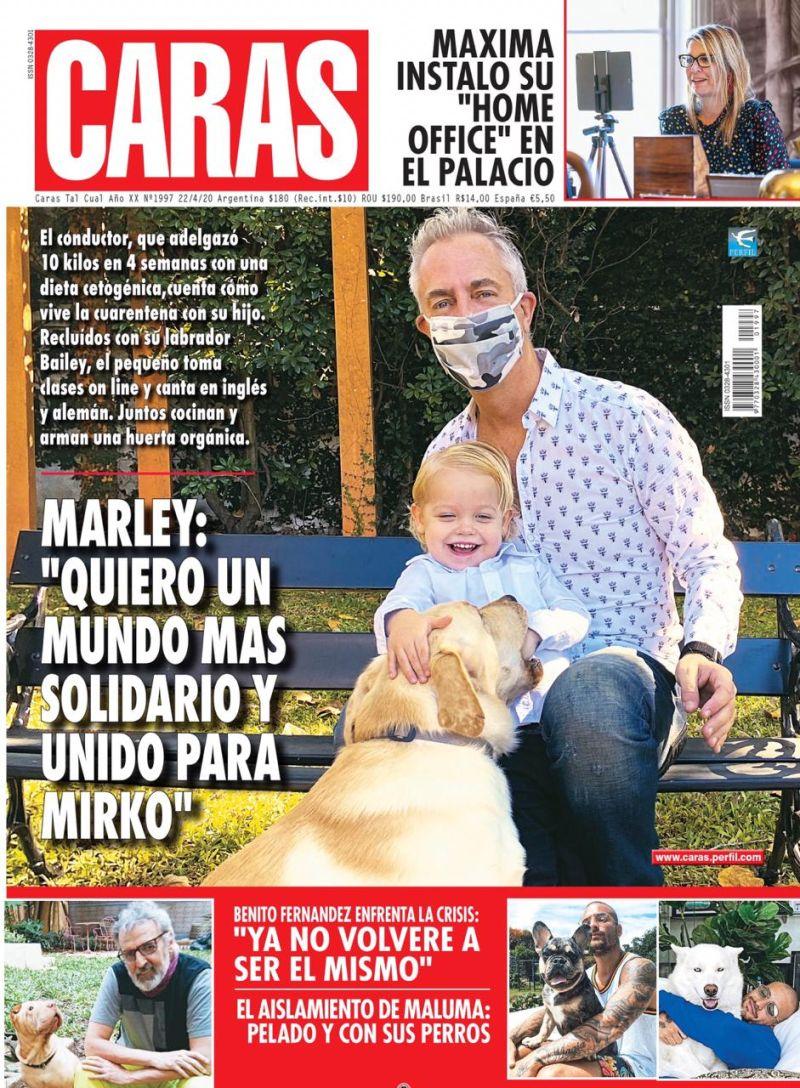 """Marley: """"Quiero un mundo más solidario y unido para Mirko"""""""