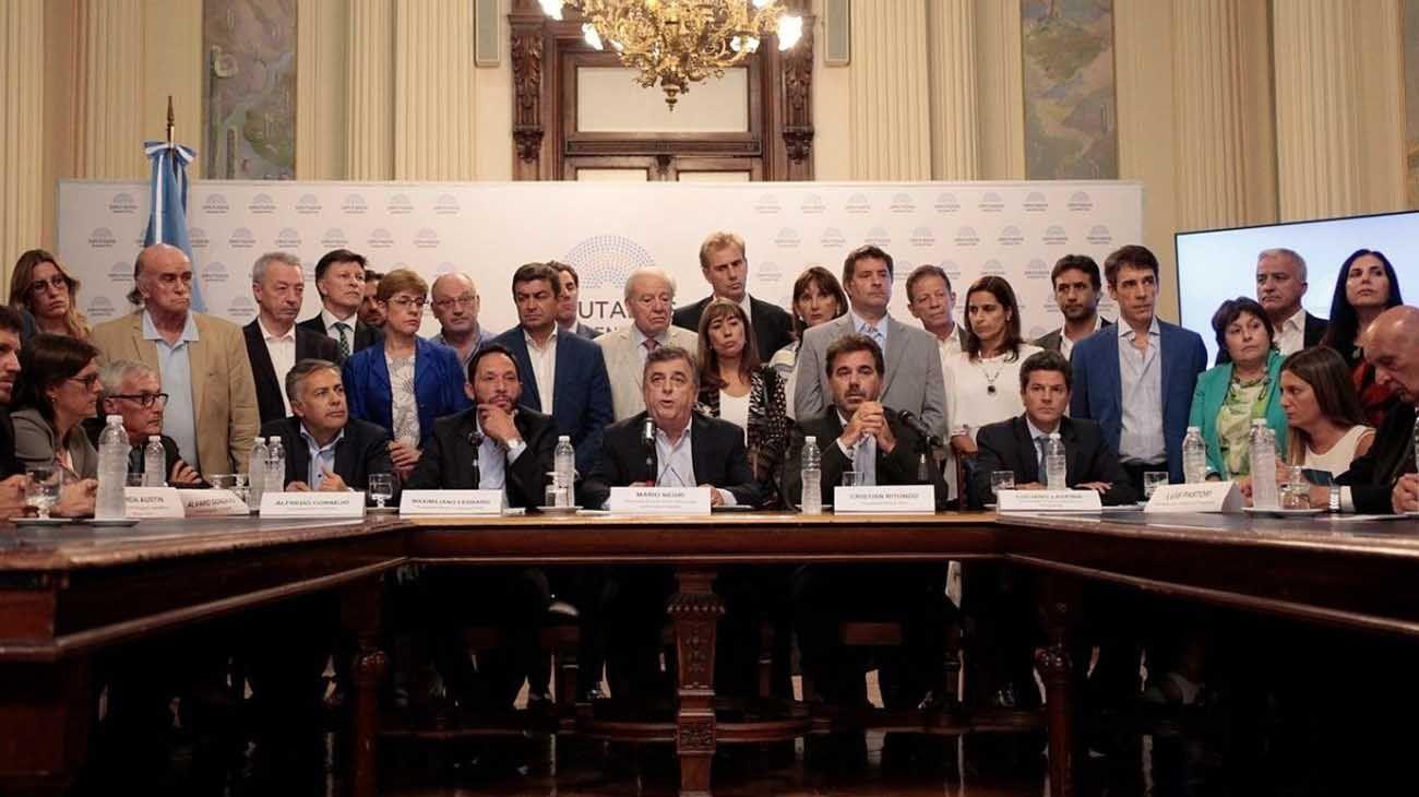 Diputados de Juntos por el Cambio.